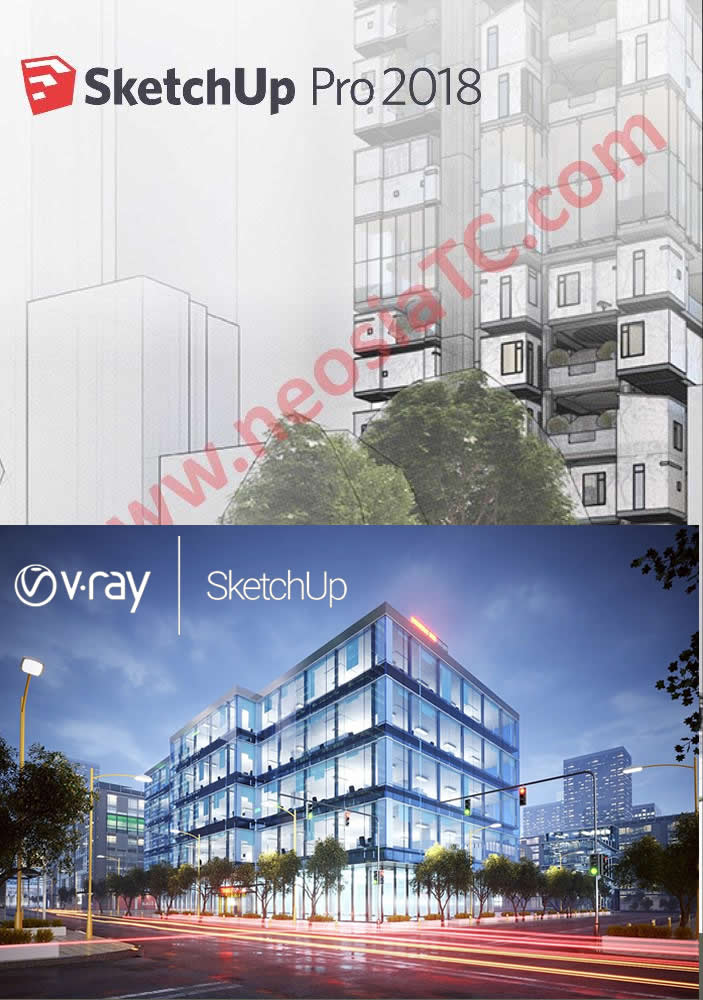 Vray For Sketchup 2018 — Crack all the World!